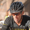 15 September 2012 ( 8h 54mn 23s am ) Lance Armstrong just before the start of Alpine Odyssey in Mount Crested-Butte . ( Mountain Bike race 64 miles )