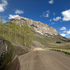 20 may 2012  10h08 am Gothic Mountain ( from Gothic dirt road )<br /> Gothic peak 12 625 feet = 3848 meters