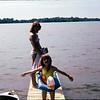 Jennifer and Allison Bass Lake