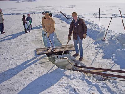 Ice Cutting January 2009
