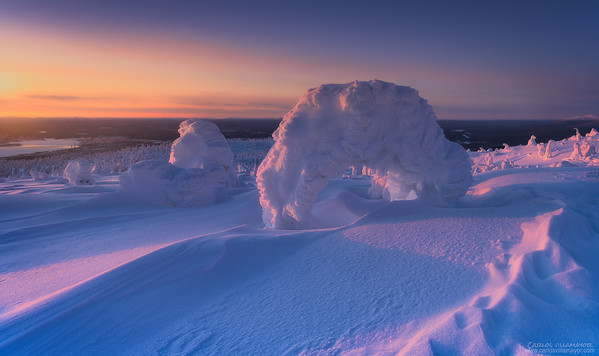 Escultura de invierno