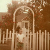 1950's Outside Aunt Frannie's House