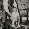1953 Christmas with Dad