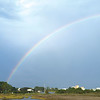 A rainbow over Little Lagoon complements of Charles Cantrell.