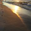 Meredith Banks shares an Orange Beach sunrise