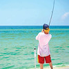 Tammi O'Gara shares a picture of her son Dillan fishing on Perdido Key.