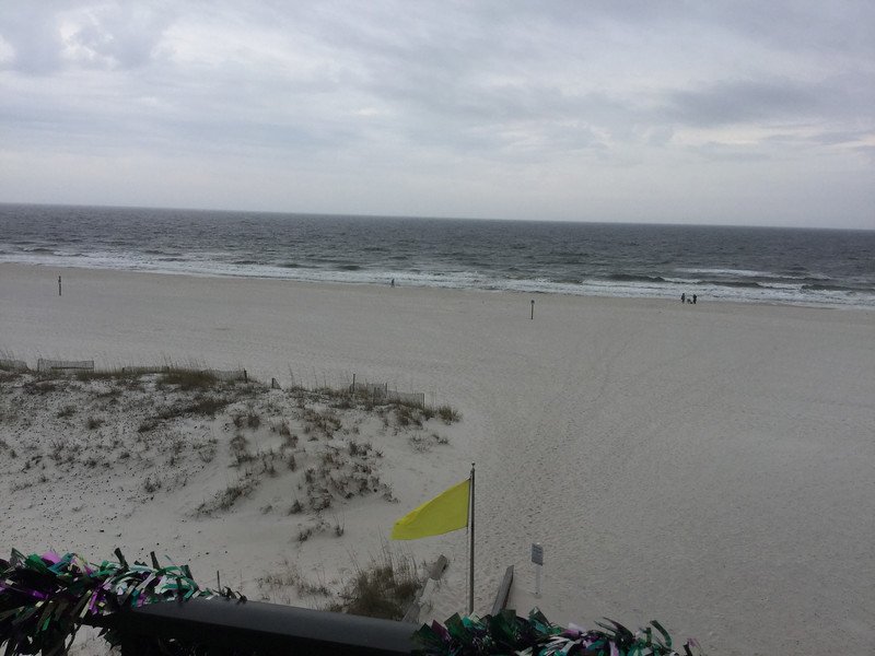 During the Storms in Gulf Shores 3 by Marie Wiser