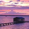 Sunset on Wolf Bay,