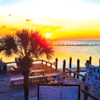 Norm Chappell shares a sunset view from Tacky Jacks Gulf Shores.