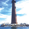 De Ann Duncan Roy shares a picture of  Sand Island Lighthouse, located three miles from Fort Morgan Peninsula.