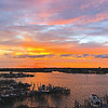 """Jim Lawson: """"Calm before the storm over Cotton Bayou."""""""