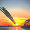 Blue Angels flying over Perdido Key from Vic Toth.