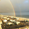 Rainbows on West Beach by S. Rodell.