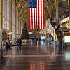December 6 2010 - DCA or Ronald Regan Airport at Xmas time.