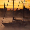 October 11 2009 - River smoke at Sunrise. First really cold day of the fall. Actually, needed a coat to be out.