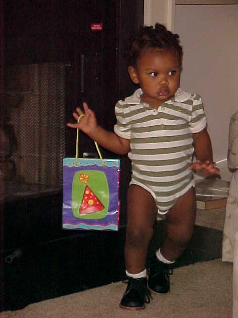 Baby got a brand new bag.