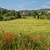 Panorama view of Lourmarin
