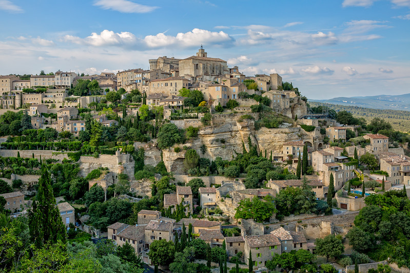 Gordes - a idyllic village in provence