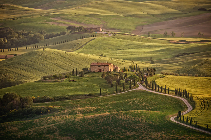 Sunny afternoon in Tuscany
