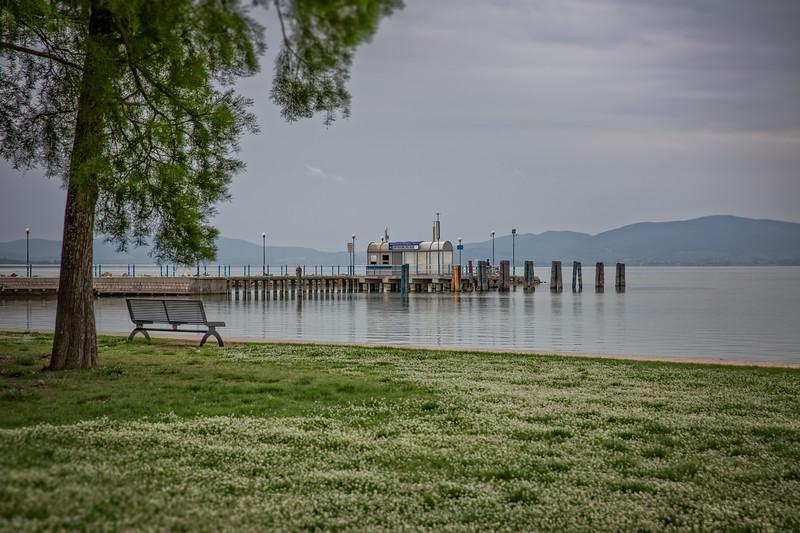 Evening mood at the Trasimeno lake