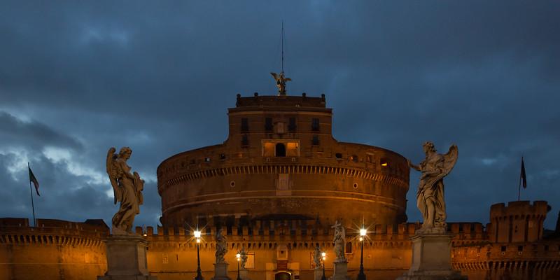 The beautiful Castel Sant'Angelo