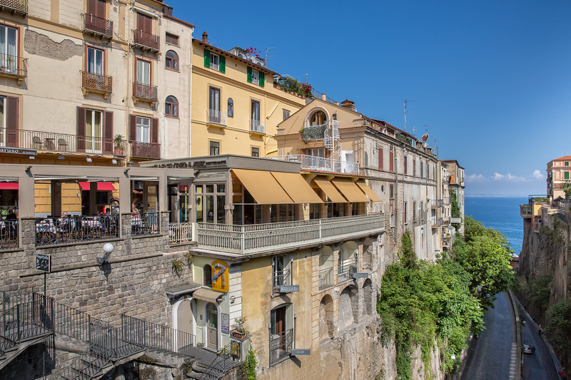 Sorrento is one of the beautiful cities on the Amalfi Coast