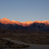 Rising Sun on the Eastern Sierras