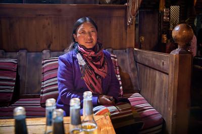 Restaurant owner, Litang