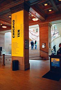 Art Institute of Chicago -1 (Contax G2, 45mm Planar, Fuji Press 800)
