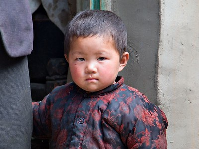 Week 24  Tibetan Farm Child