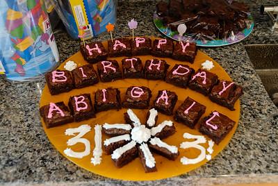2006 July - Abigail turns Three!