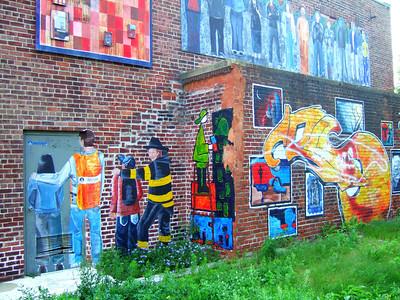 Graffiti in Arlington, MA