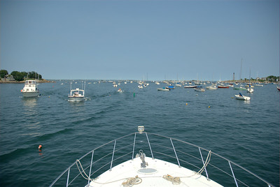 We went on a boat ride to Marblehead and Manchester-by-the Sea with dear friends
