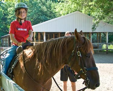 Next - horse riding