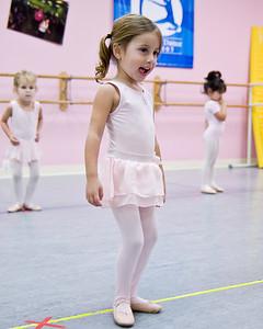 Abigail at Dance Class