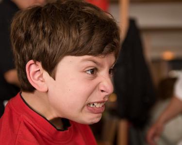 Jacob doing his Jacob imitation