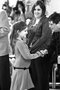 January 2008 - Julia's Siddur Ceremony