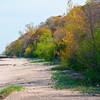 A deserted island, or the Lake Illinois beach?