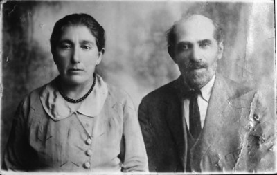Leah (Leja) Kanter and Yona (Jeine) ben Eliezer HaLevy - Parents of Sam Dworetz. Killed by Lithuanians in 1941