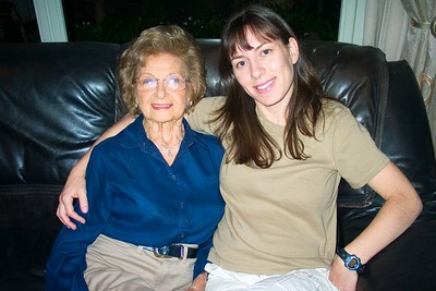 2004 - Gertie and Lisa