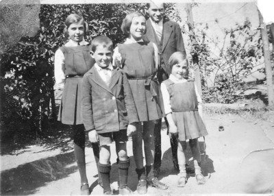1925? Gertie - Joe - Minny - Harry - Brenda
