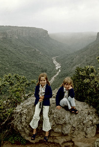 Summer 1976 - Oribi Gorge - Natal
