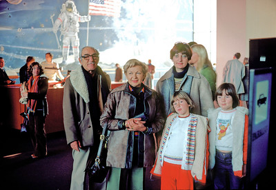 Winter 1977 - Washington Dc - Smithsonian Air and Space Museum My parents visited the USA - we took them to Washington from Poughkeepsie.