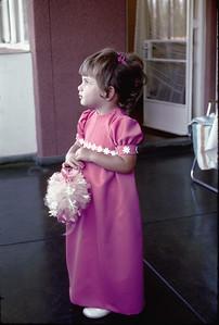1972 - Johannesburg - Lisa as bridesmaid
