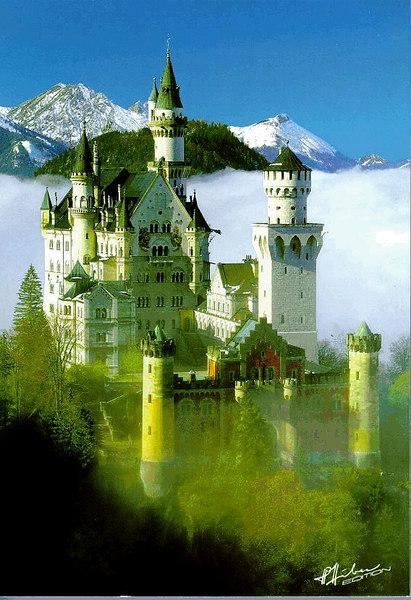 Germany's New Swan Castle