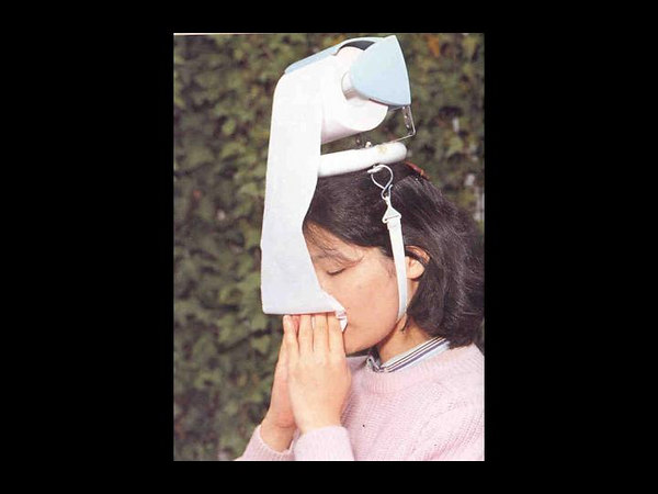 For nose blowing