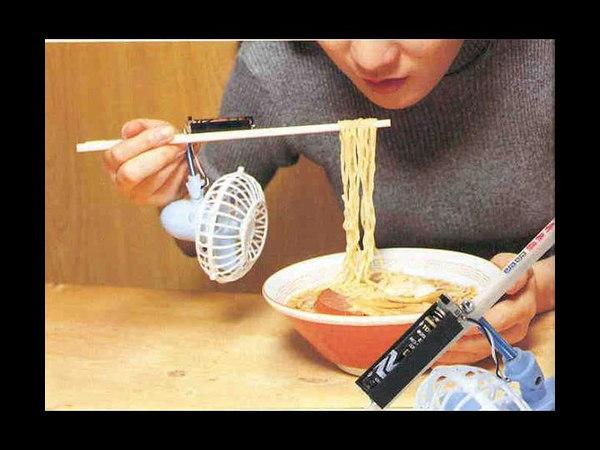Cooling noodles