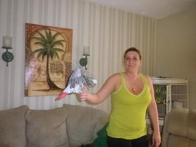 Easter at Debbie 4-24-2011