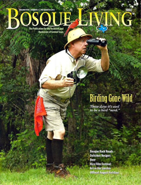 Bosque Living Magazine Cover