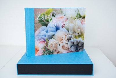 16 x 12  Wedding Album with Acrylic Glass cover